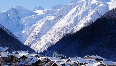 Winter Walking In The Italian Alps