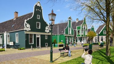Zaanse Schans and A'dam Lookout