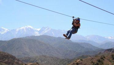 Zip-Line Adrenaline in Mendoza