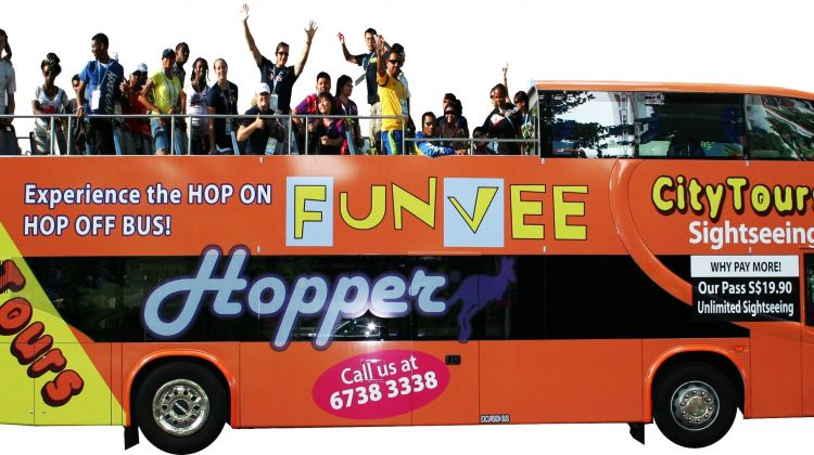1 Day City Tours Hop on Hop off Sightseeing - Bus only