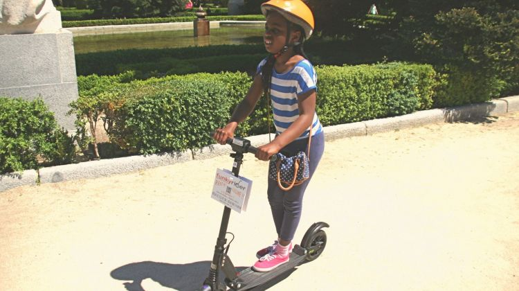 1 hour Renting an Electric Scooter