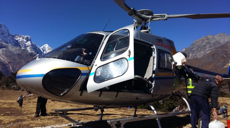 10 Day Everest Base Camp Trek with Chopper Return