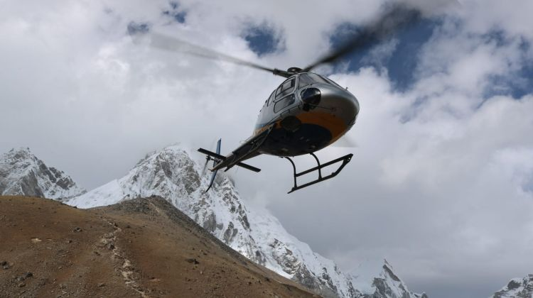 10 Day Everest Base Camp Trek with Chopper Return