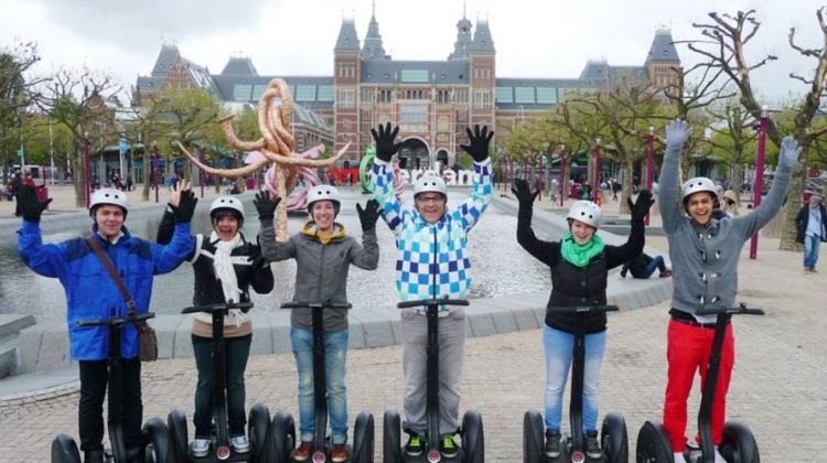 2 Hours Amsterdam Segway Sightseeing Tour