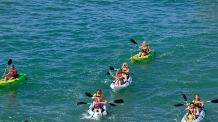 2h30 hours Kayaking and Coastline Tour