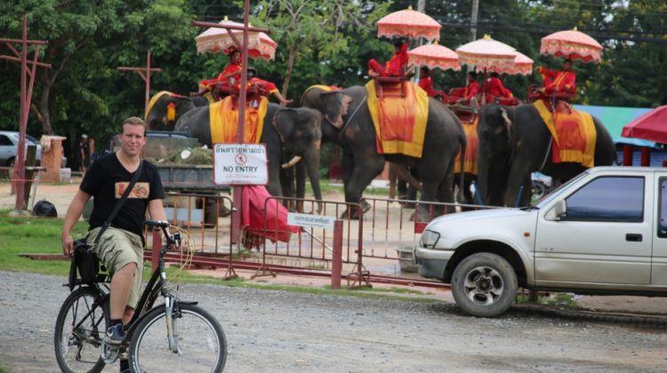 3 Hours Ayutthaya City Tour by Bike
