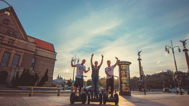 3 Hours Prague Grand City Tour On Segway
