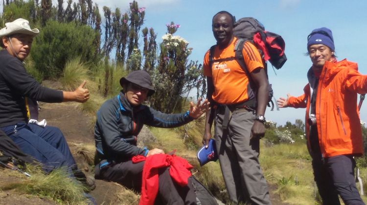4 Days Mt. Kenya Sirimon Route