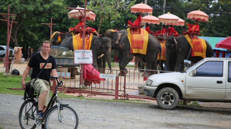 4 Hours Ayutthaya City Tour by Bike