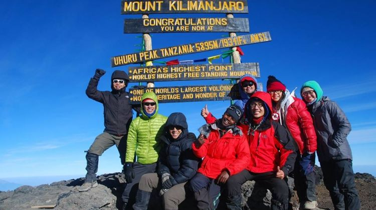 5 Day Marangu Route Kilimanjaro Trek
