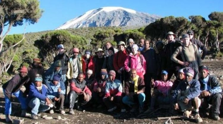 7 Days Kilimanjaro climbing Machame Route