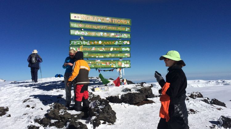 8-Day Climb Mt. Kilimanjaro via Lemosho Route