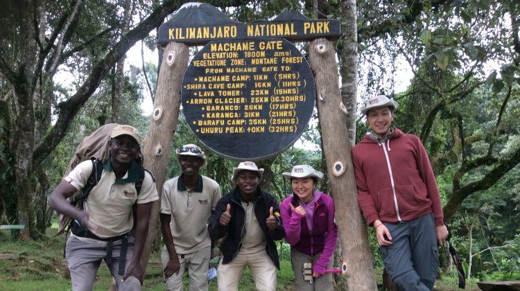 8-Day Mt Kilimanjaro Summit Climb (Machame Route)