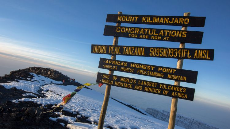 9 Day Kilimanjaro Trekking Tour + 2 Night's Hotel Stay