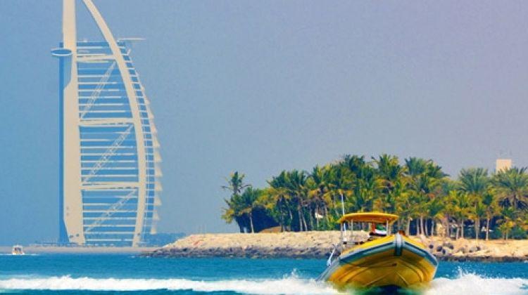 90 min Sightseeing Boat Tour Dubai Marina