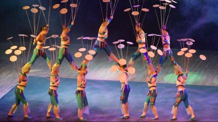 Acrobatics Show in Beijing (Night Tour)