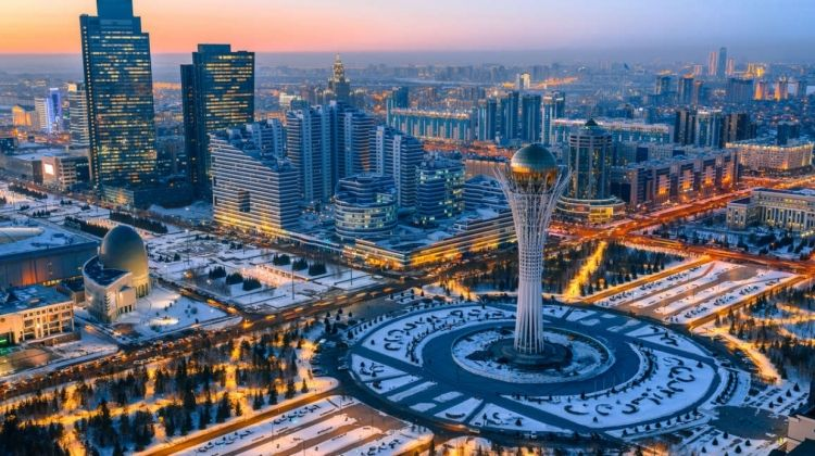 Across the Kazakh Steppe