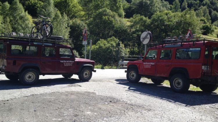 Active in the Pyrenees