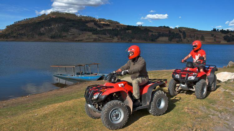 Adventure in ATVs Maras Moray and Salinas 1 Day