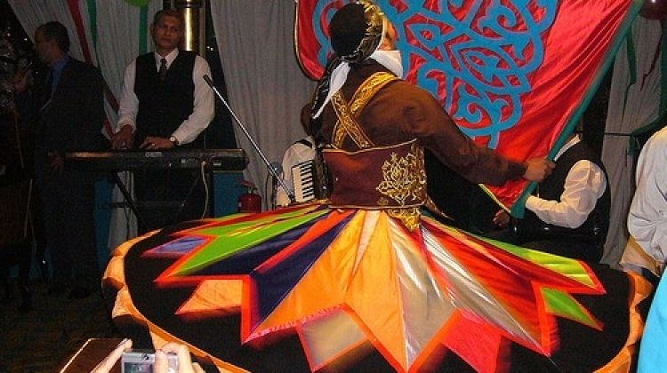 Al Tannoura Egyptian heritage show at Wekalet El Ghoury