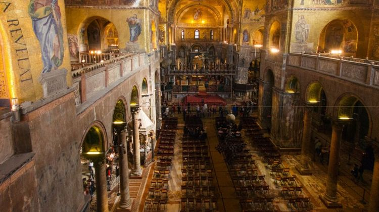 Alone in St. Mark's Basilica