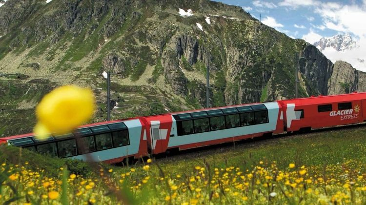 Alpine Railway Journey