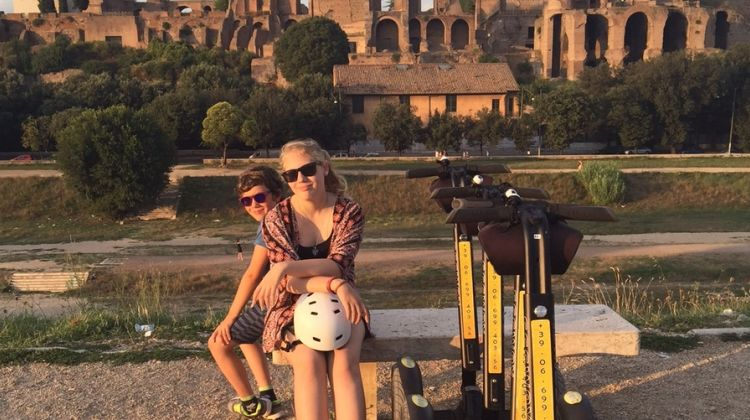 Ancient Rome with Segway