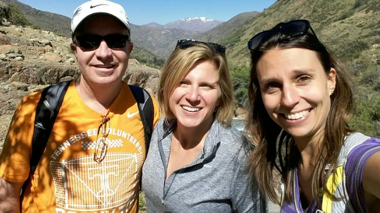 Andes Day Hike - in National Park Yerba Loca