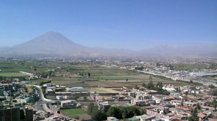 Arequipa countryside, Sabandía Mill and Founder's Mansion