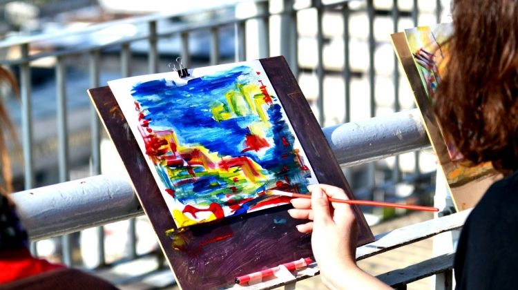 Artist's Workshop & Sightseeing Tour – Make Your Own Souvenirs to Take Home!