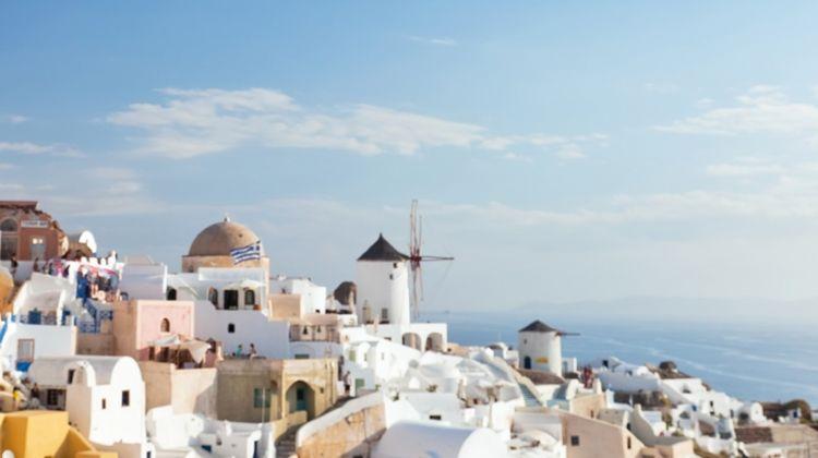 Athens to Santorini