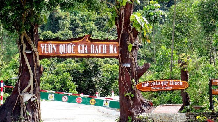 Bach ma national park - trekking tour