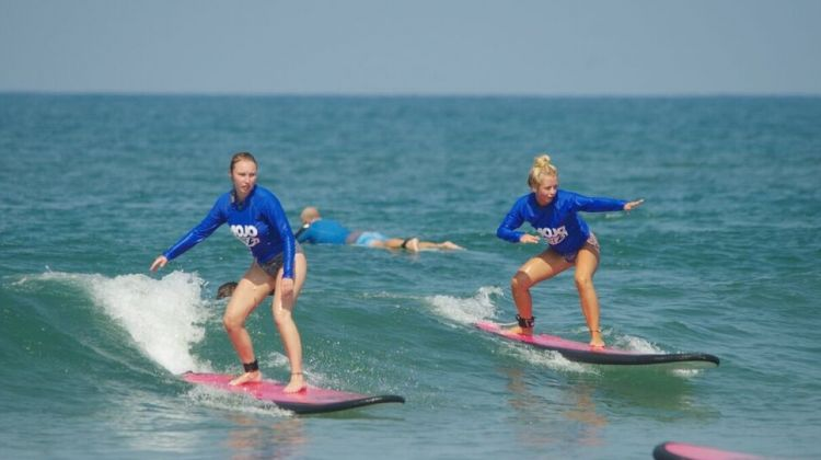 Bali Learn to Surf day trip