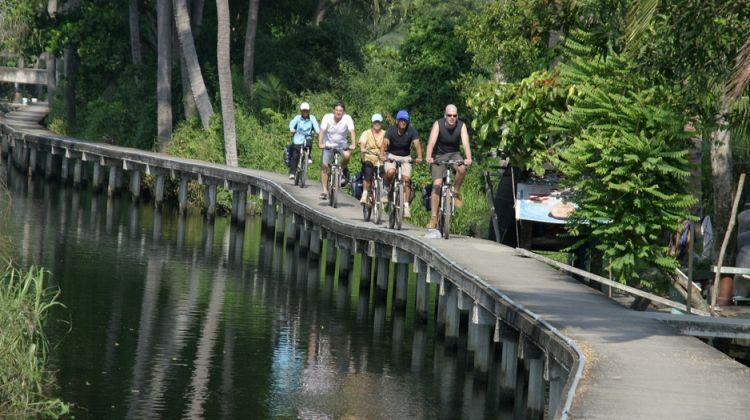 Bangkok Paradise Bicycle Tour