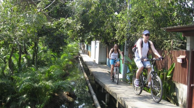 Bangkok Paradise Bicycle Tour