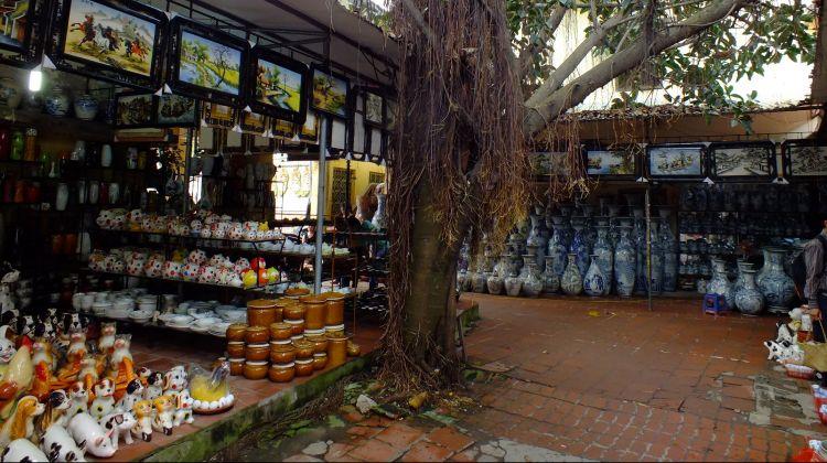 Bat Trang Ceramic and Van Phuc Silk Villages