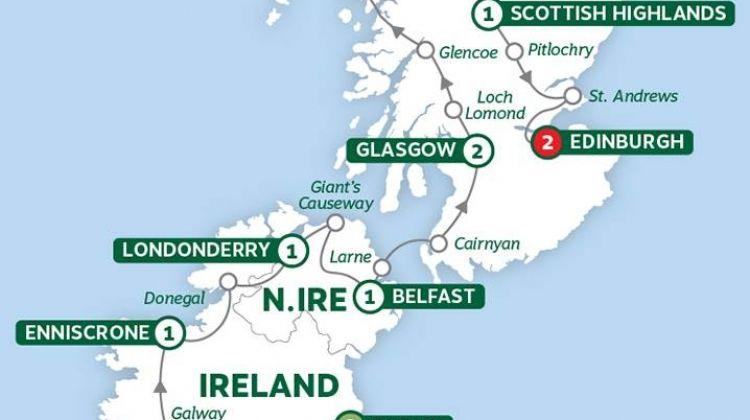 Best of Ireland and Scotland