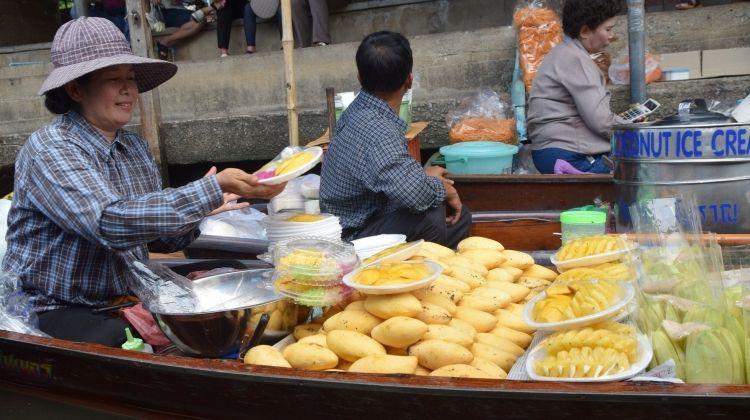 Beyond Bangkok Market Adventure: Railway & Floating Markets
