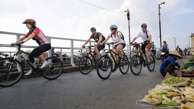 Bicycle Tour Of Bat Trang Ceramics Village