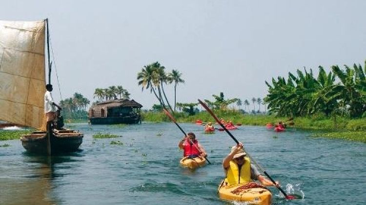 Bike, Hike and Kayak South India