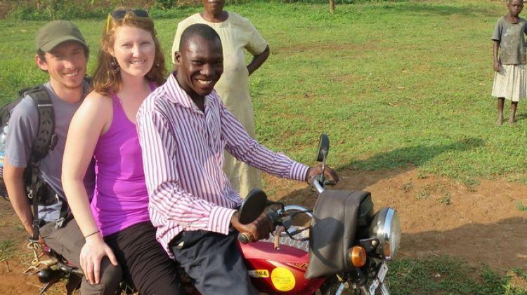 Boda-boda  City Tour of Kampala