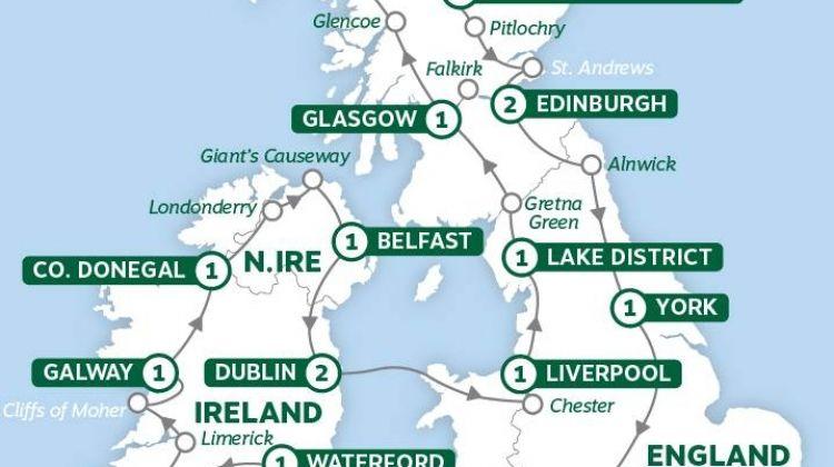 Britain and Ireland Panorama