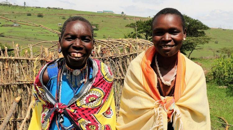 Building Manyattas with the Maasai