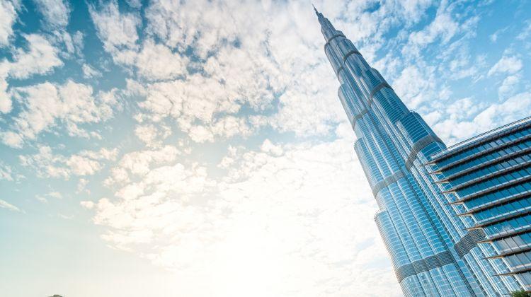 Burj Khalifa 124th Floor Visit + Armani Deli Lunch