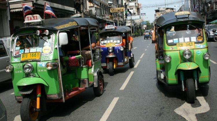 Bustling Bangkok Tuk Tuk Tour