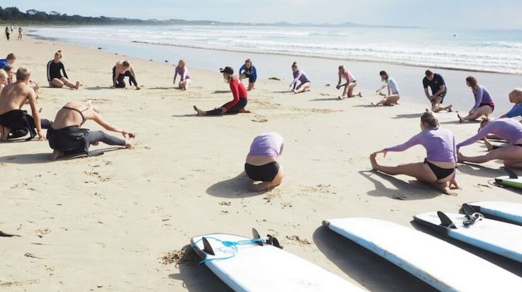 Byron Bay Learn to Surf Lesson