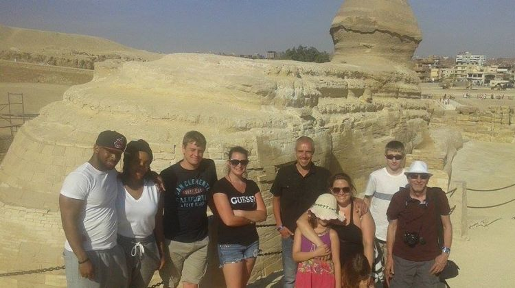 Cairo layover tour to Giza and Sakkara