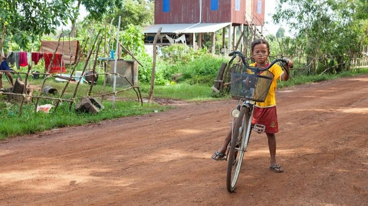 Cambodia Heritage by Bicycle