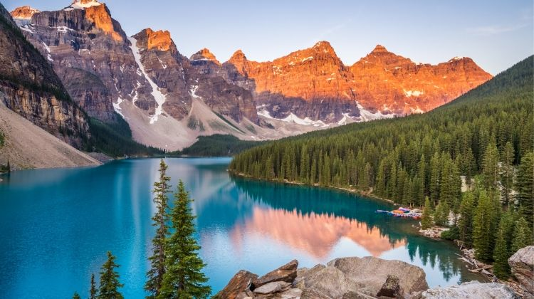 Canadian Rockies - Reverse