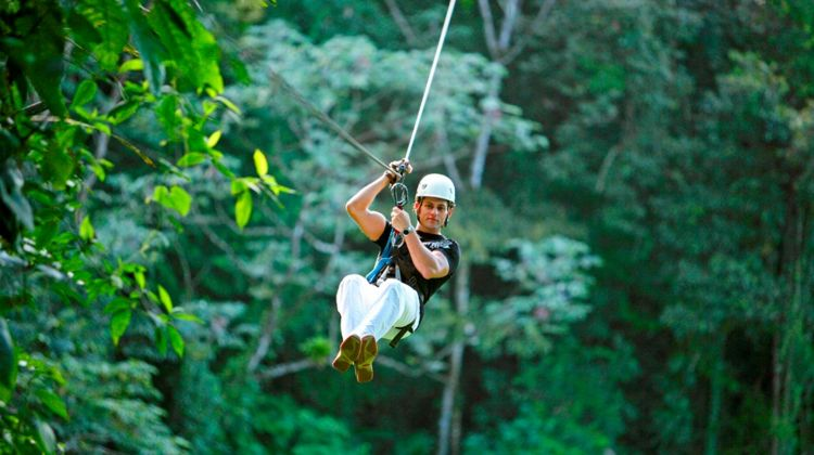 Canopy Zip-lining & Horseback Riding in Arenal